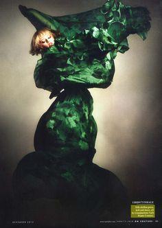 Anastasia K by Kristian Schuller for Vanity Fair UK, December 2012 #Giambattista_Valli #couture