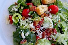 Salad de Maison-this salad is amazing. We do not use the honey in the dressing. Love.