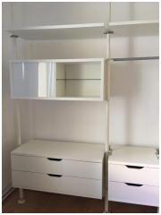 Kleiderschrank Aufbewahrungssystem Awesome Ikea Regalsystem Stolmen Bookcase Shelves Ladder Bookcase