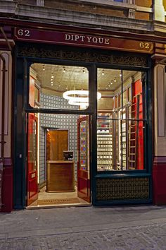 Diptyque shop by Christopher Jenner, London store design