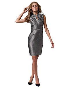 cebae02d68031 Sleeveless piping dress designed by Korto Momolu! Kriselda Gray · Project  Runway 10th Anniversary Lord   Taylor Dresses