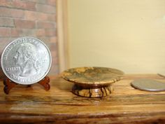 Dollhouse Miniature 1:12 Cookware & Tableware Cake Plate Handcrafted OOAK #R11 #HandcraftedMiniaturesbyOppi