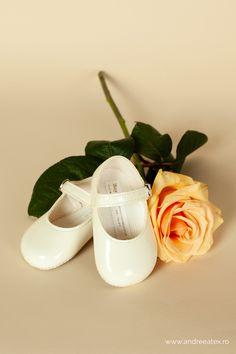Pantofiori botez fete Ivoire