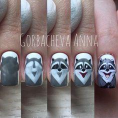 80 ideas to create the best Halloween nail decoration - My Nails Minimalist Nails, Cute Nails, Pretty Nails, Nail Art Disney, Nail Art Dessin, Hair And Nails, My Nails, Nail Drawing, Nail Salon Decor