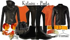 DisneyBound outfits based on Katniss  Peetas chariot outfits! #GirlOnFire #HungerGames