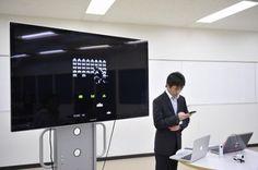 【バンタンゲームアカデミー】高等部の学生が、制作したiPhoneアプリをプレゼン!@後期審査会