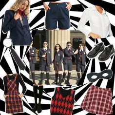 DIY Halloween costume - The Umbrella Academy uniforms. How to get that look without spending a fortune. Diy Halloween Costumes, Costume Ideas, Academy Uniforms, That Look, How To Wear, Fashion, Moda, Fashion Styles, Fashion Illustrations