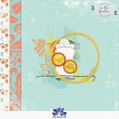 Quality DigiScrap Freebies: In The Garden tiny kit freebie from Blue Flower Art