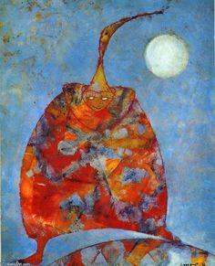 'My Friend Pierrot' von Max Ernst (1891-1976, Germany)