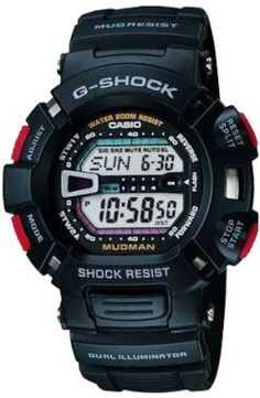 Casio G-Shock Mudman G9000 - Sport watches help you to track running distance, time split laps and more .Shop online for sport & fitness watches at: topsmartwatchesonline.com