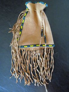 Native American Style Pouch Bag by MountainMan4sale on Etsy, $52.00