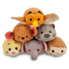 Winnie the Pooh Too Tsum Tsum Set