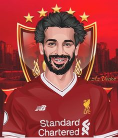 Fc Liverpool, Ancient Mesopotamia, Mohamed Salah, Football Art, Illustration Art, Illustrations, Isco, Camp Nou, Sports Art