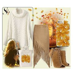 """""""Fall sweater"""" by julemstudio ❤ liked on Polyvore featuring Michael Kors, Nightwalker and fallsweaters"""