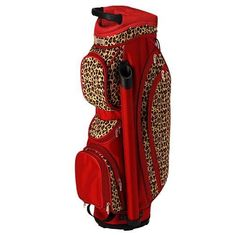 Golf School Leopard Glove It Ladies Golf Cart Bag! Would be the best gift a wife can have! If you're a wife, make sure to tell your husband about this beautiful bag that you can bring on the golf course! Golf 6, Play Golf, Sport Golf, Nike Golf, Golf Attire, Golf Outfit, Golf Push Cart, Ladies Golf Bags, Golf Cart Accessories