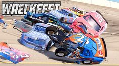 Playing Wreckfest with NASCAR Mod. Racing and crashing on Talladega, Michigan Speedway, Pocono and some demo derby arenas, Hot Wheels track, figure 8 and mor. Sound Of Thunder, Nascar, Hot Wheels, Derby, Michigan, Channel, Gaming, Walls, Music