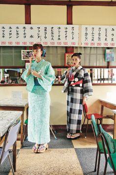 Honey And Clover, Cute Kimonos, Human Poses Reference, Kimono Design, Japanese Outfits, Yukata, Ao Dai, Japanese Kimono, Aesthetic Clothes