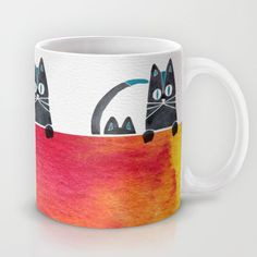 Cats by Cat Coquillette #cats #coffee