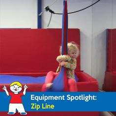 The Zip Line is used to put pressure on a child's joints. This helps with the vestibular sensation needed and gives children a way to receive the sensory feedback they need. Children enjoy the challenge of using their core strength while having fun. Sensory Equipment, Play Equipment, Sensory Play, Being Used, Gymnastics, Strength, Challenges, Activities, Core