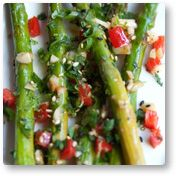 Cilantro-Lime Roasted Asparagus  Just made this, it was soo good!