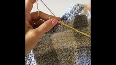 Video: Crochet Gingham in Grey - Daisy Farm Crafts - Diy IdeaVideo: Crochet Gingham in Grey Crochet Beanie Hat Leaping Stripes and Blocks Blanket Free Crochet Pa. Free Girl's Crochet Pullover Pattern Plaid Crochet, Knit Or Crochet, Crochet Crafts, Crochet Daisy, Freeform Crochet, Afghan Patterns, Crochet Blanket Patterns, Stitch Patterns, Crochet Afghans
