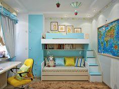 Descubra fotos de Quartos de criança mediterrânicos turquesa por Студия дизайна Interior Design IDEAS. Encontre em fotos as melhores ideias e inspirações para criar a sua casa perfeita.