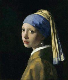 La Joven de la Perla (1665-1667)  también conocida como Muchacha con turbante, La Mona Lisa holandesa y La Mona Lisa del norte, es una de las obras maestras del pintor holandés Johannes Vermeer (31 de octubre de 1632, Delft - 15 de diciembre de 1675, Delft, Países Bajos), es uno de los pintores neerlandeses más reconocidos del arte Barroco. Períodos: Barroco, Siglo de oro neerlandés