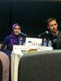 THE power couple. @Tahereh Mafi @ransomriggs #YALLFest - Via @silhouettesumrs