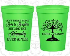 Personalized Plastic Cups, Personalized Cups, Wedding Cups, Wedding Cup, Stadium Cups, Party Cups, Plastic Cups (09)