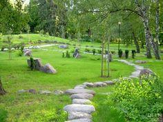 Japanese Garden in Kadriorg, Tallinn, Estonia