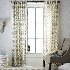 Tali Window Panel, 48