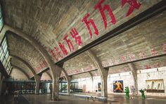 Art will always be a huge part of our culture and history. #798artdistrict in #beijing did amazing converting beautiful WWII architecture buildings into modern art studios and galleries. #grammasters3
