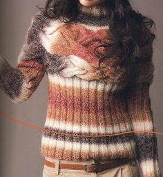 Free Knitting Patterns: Sweaters knit