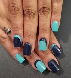638 Best Nail Art French Manicures Half Moon Manicures Borders