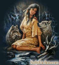 WOLF, WOMAN