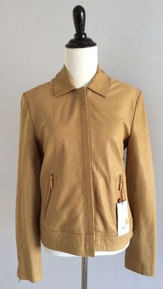 http://www.athenefashion.com/ebay/quick-ends-soon-nwt-burberry-london-womens-brown-leather-jacket-size-it-38-us-4/ nice Quick Ends Soon NWT Burberry London Women's Brown Leather Jacket Size IT 38 US 4
