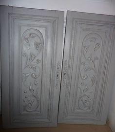 Portes sculptées  patinées