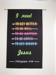 I need Jesus - church worship banner Youth Room Church, Kids Church, Church Ideas, Sunday School Rooms, Sunday School Classroom, Youth Group Rooms, Youth Ministry Room, College Girls, Church Bulletin Boards