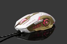 3200DPi LED Professional Gaming Mouse for High-end Players. Left And Right Handed, Led, Games, Lights, Electronics, Gaming, Lighting, Plays, Game