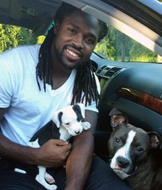 Amazing athlete, animal lover and activist, and a beautiful man inside and out... I love Torrey Smith!