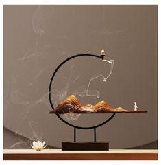 Altar Design, Incense Holder, Incense Burner, Tea Set, Art Forms, Feng Shui, Diy Art, Wood Art, Decorating Tips