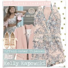 - Kelly Kapowski {Saved By The Bell} by shellebelle on Polyvore featuring polyvore, fashion, style, Rebecca Taylor, Zimmermann, H&M, McGuire, KellyKapowski, SavedByTheBell and TiffaniThiessen