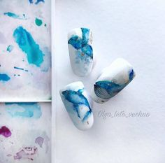 Water Color Nails, Neutral Nails, Accent Nails, Art Inspo, Nail Designs, Nail Art, Shapes, Claws, Nail Ideas