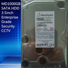 (60.00$)  Watch now - http://aip2o.worlditems.win/all/product.php?id=32606107436 - 1000GB HDD  SATA 3.5inch  Enterprise Grade Security CCTV Hard Drive Warranty for 1-year