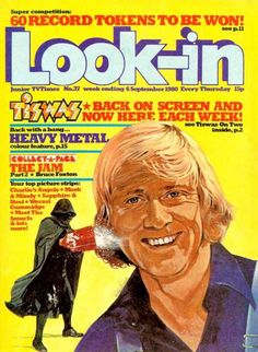 Look-in magazine - September Tiswas cover Thanks For The Memories, Old Comics, My Childhood Memories, Comic Books Art, Cool Kids, Nostalgia, That Look, Magazine Covers, Magazines