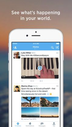 Twitter Updated For iOS 9 With Split-Screen Support