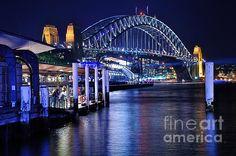 Sydney Harbour Blue By Kaye Menner
