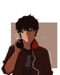 Nico di Angelo | art by spookypineapples | Artwork