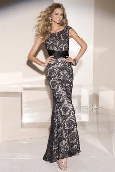Mother of the Bride   Jean de Lys Style #29744 front view of dress