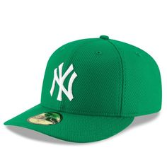 New York Yankees New Era St. Patrick s Day Diamond Era Low Profile 59FIFTY  Fitted Hat - Green -  37.99 e5c4ffc326a8